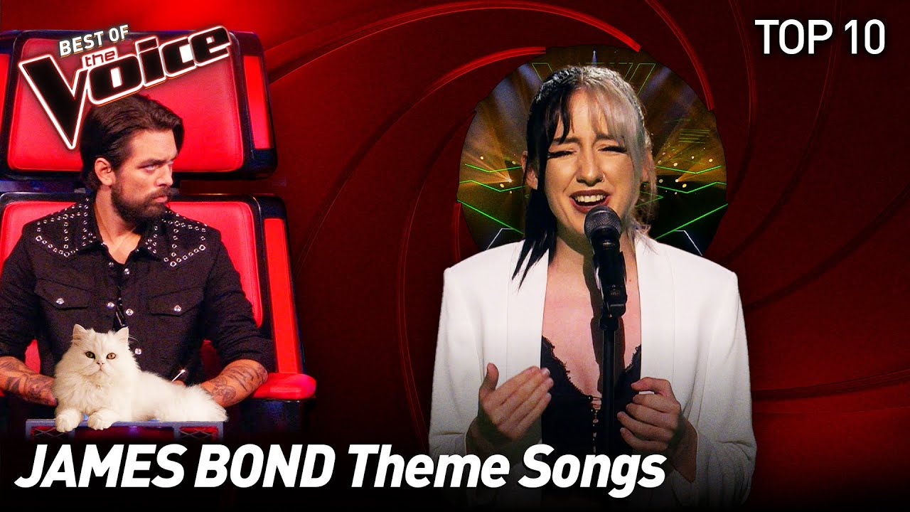 These talents have NO TIME TO DIE on The Voice | Top 10