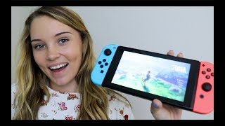 ASMR Gaming - Legend of Zelda: Breath of the Wild Gameplay - S…