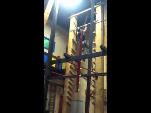 Drew Drechsel Salmon Ladder at Iron Sports