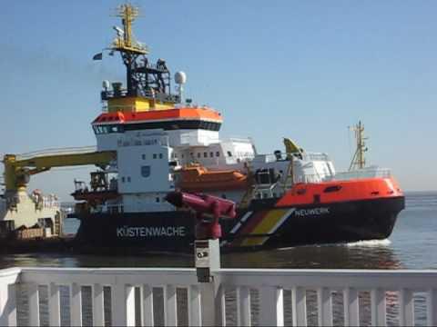 Schiff neuwerk cuxhaven küstenwache