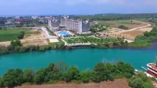 Lake & River Side Hotel Spa 5* - Видеопрезентация отеля / Hotel video presentation(Отель открыт в 2012 году, расположен на берегу озера и реки Титреенгель, в 7 км от г. Сиде м в 750 м от пляжа. ---..., 2016-08-31T12:44:18.000Z)
