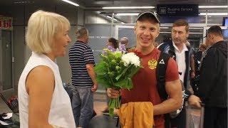 Возвращение Игоря Малиновского с чемпионата мира по летнему биатлону