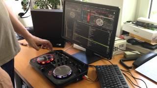 Pioneer DDJ WEGO2 with PC/Mac Atomix Virtual DJ