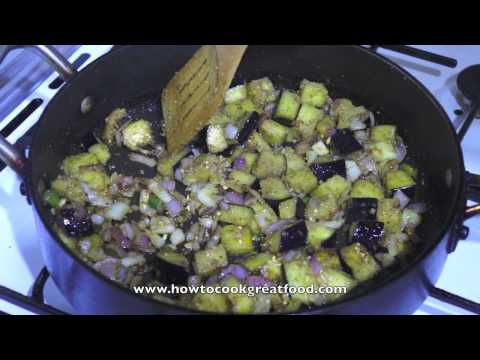 Aubergine & Mung Bean Cumin Stew hotpot casserole vegan recipe How to cook great food