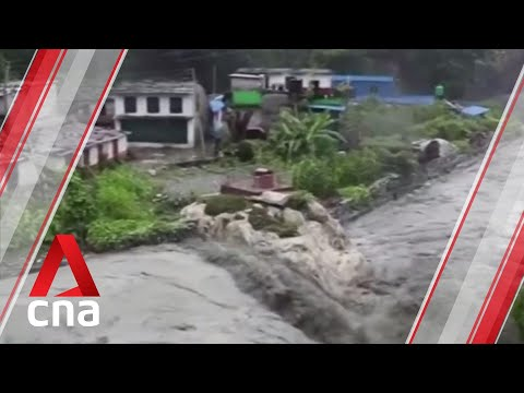 Flash floods and landslides kill 40 in Nepal