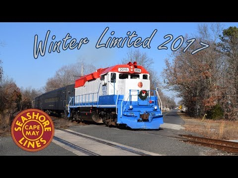 Cape May Seashore Lines' Winter Limited