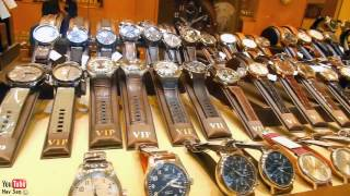 Hong Kong luxury Watch Shopping Wonderland