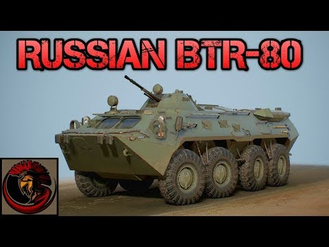 Russian BTR-80 Armored Personnel Carrier