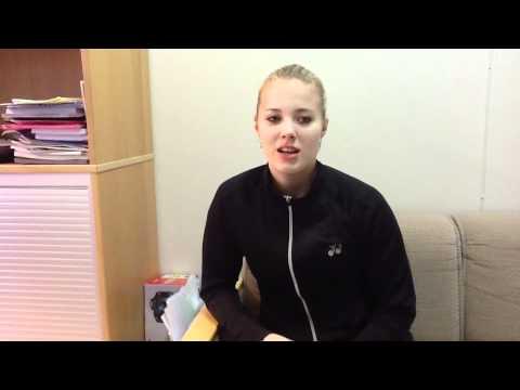 Haastattelussa Nanna Vainio