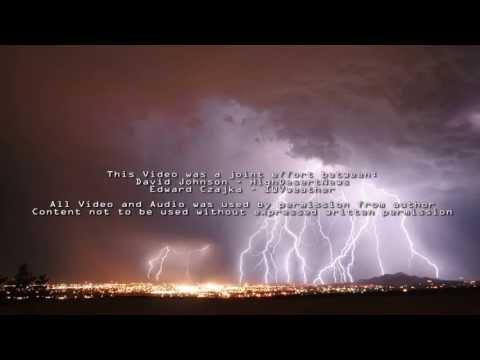 Storm Chasing Around Ridgecrest, CA (Mojave Desert)