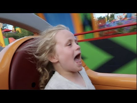 We Do The Slinky Dog Dash At Toy Story Land!! | Beingmommywithstyle