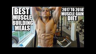 Top 10 Foods to Gain Muscle 2018