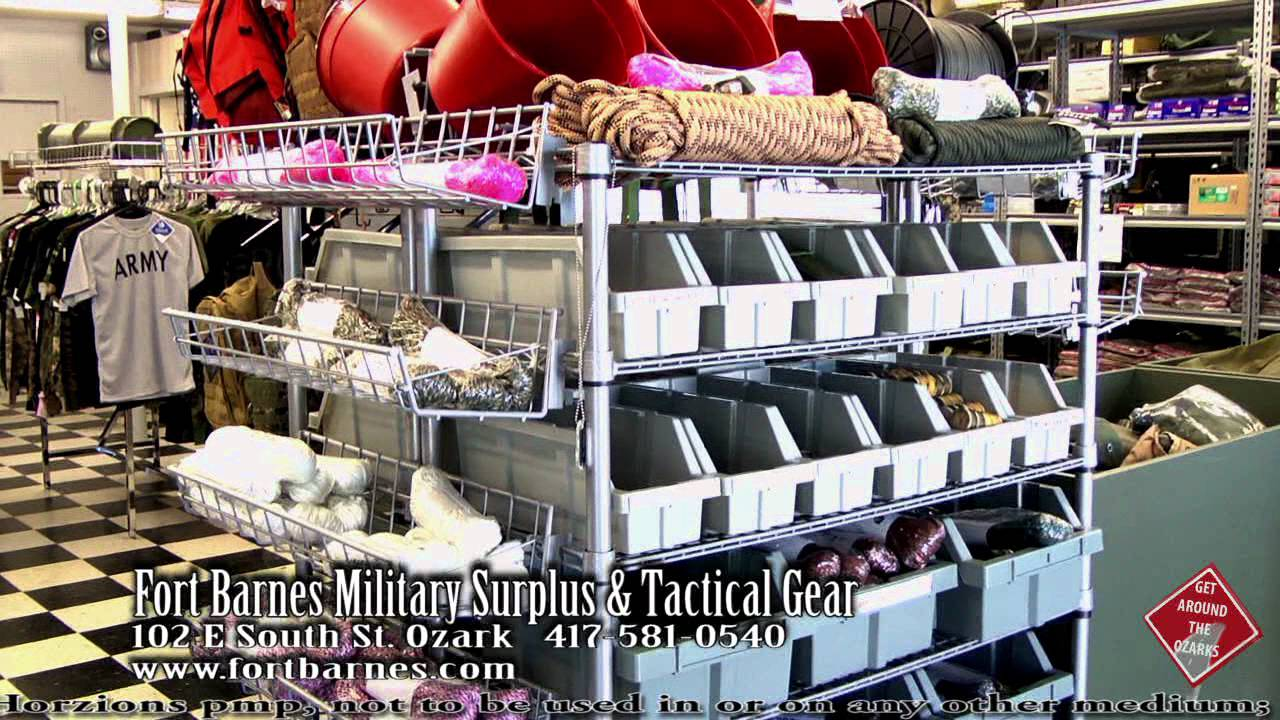 Fort Barnes Military Surplus & Tactical Gear, if you need it we've got it!