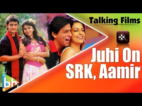 Juhi Chawla Gives A Unique Answer When Asked About Shah Rukh & Aamir Khan
