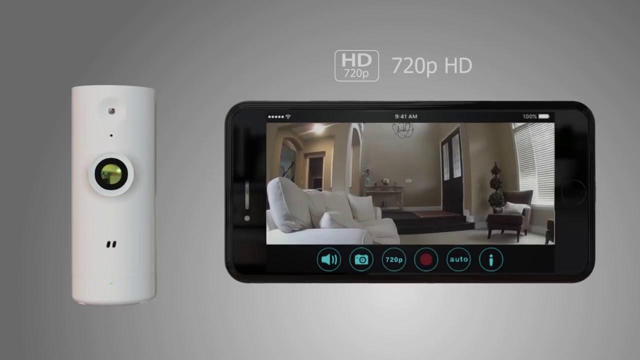 69c062466f2 D-Link Mini HD Wi-Fi Camera (DCS-P6000LH) - YouTube
