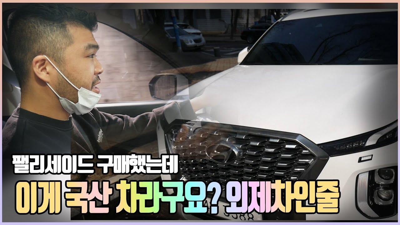 팰리세이드 의 매력은? (feat.바버)