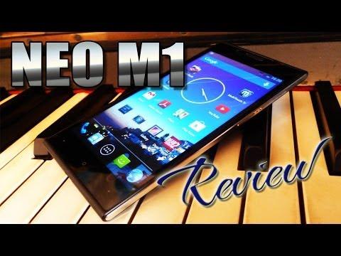 Neo M1 Review / Test Video - MT6582 Quad-Core - Very Slim - Neomobile.me - ColonelZap