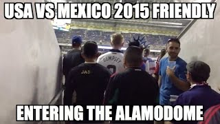 USA vs. Mexico 2015 Friendly - Entering the Alamodome for another 2-0!