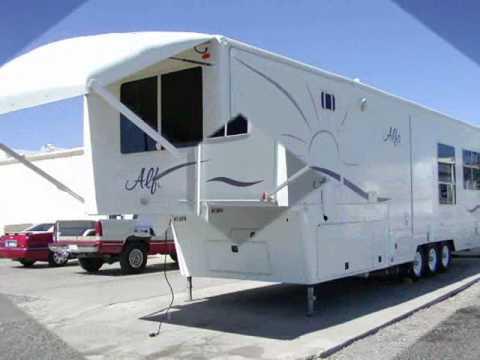 used 2005 alfa 35rl 5th fifth wheel for sale arizona youtube. Black Bedroom Furniture Sets. Home Design Ideas