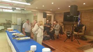 Golden Years luncheon, live music, dancing and even Karaoke (Greek style)!