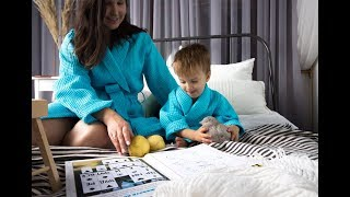 как сшить женский и детский халаты (выкройки)