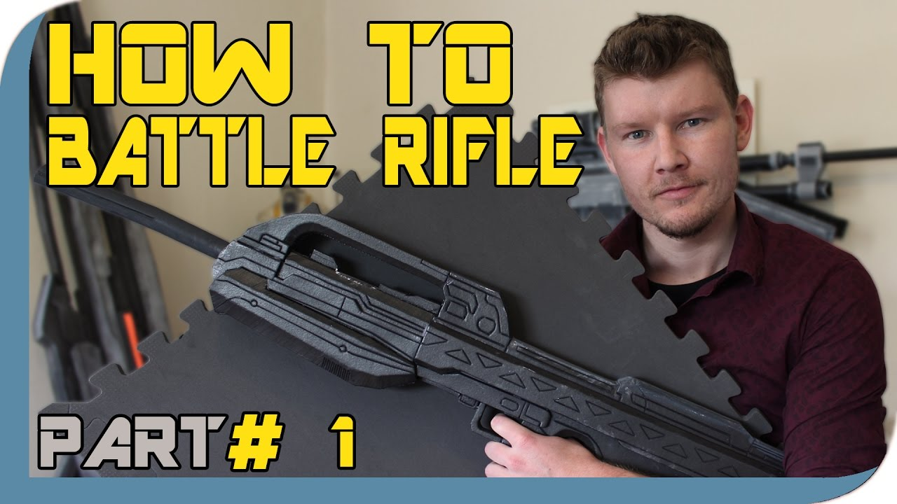 how to make prop rifle