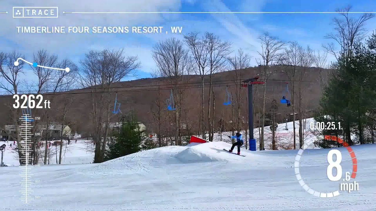 trace: skiing - kevin bollinger at timberline four seasons resort