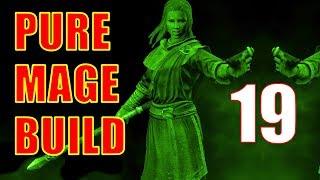 Skyrim Pure Mage Walkthrough NO WEAPONS NO ARMOR Part 19 - Warlord Gathrik Boss Fight!