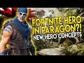 PARAGON NEW HERO FROM FORTNITE?!