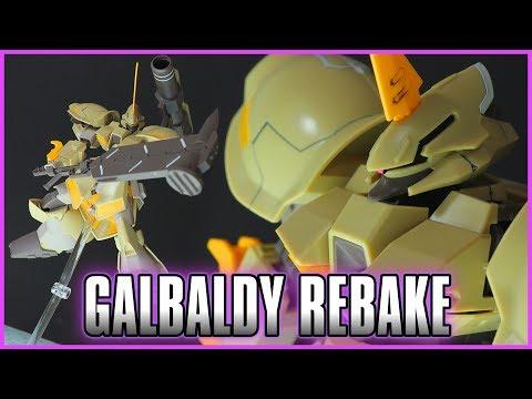 1/144 HGBD Galbaldy Rebake Review - GUNDAM BUILD DIVERS