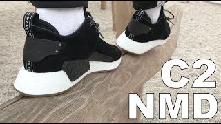 Adidas NMD C2 On Feet NOIRFONCE Sneakers