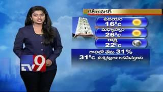 Weather Report 18 01 2017 TV9