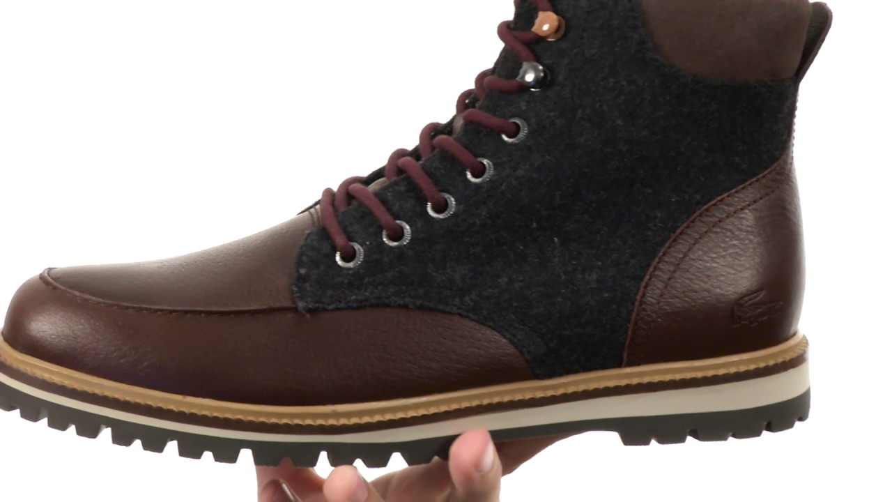 12eab3fdf896f5 Lacoste Montbard Boot 316 2 SKU 8773156 - YouTube