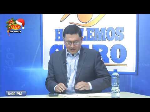 HABLEMOS CLARO CON WILL SALGADO ENTREVISTA VIERNES 06 DE DICIEMBRE DE 2019