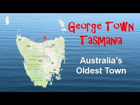 George Town, Tasmania: Streetscapes for RV/caravan camper's & Tourists.