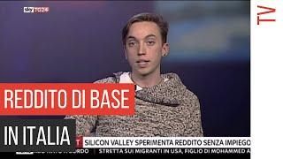Reddito di base in Italia | Federico Pistono a SkyTG24 Economia