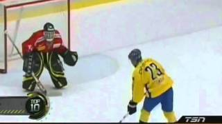 Top 10 : Most Creative Moves During Hockey Shootout thumbnail