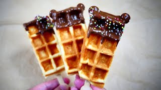 Chocolate Covered Waffle Bar ( With Ears ) チョコをかけたワッフル・バー(耳つき)