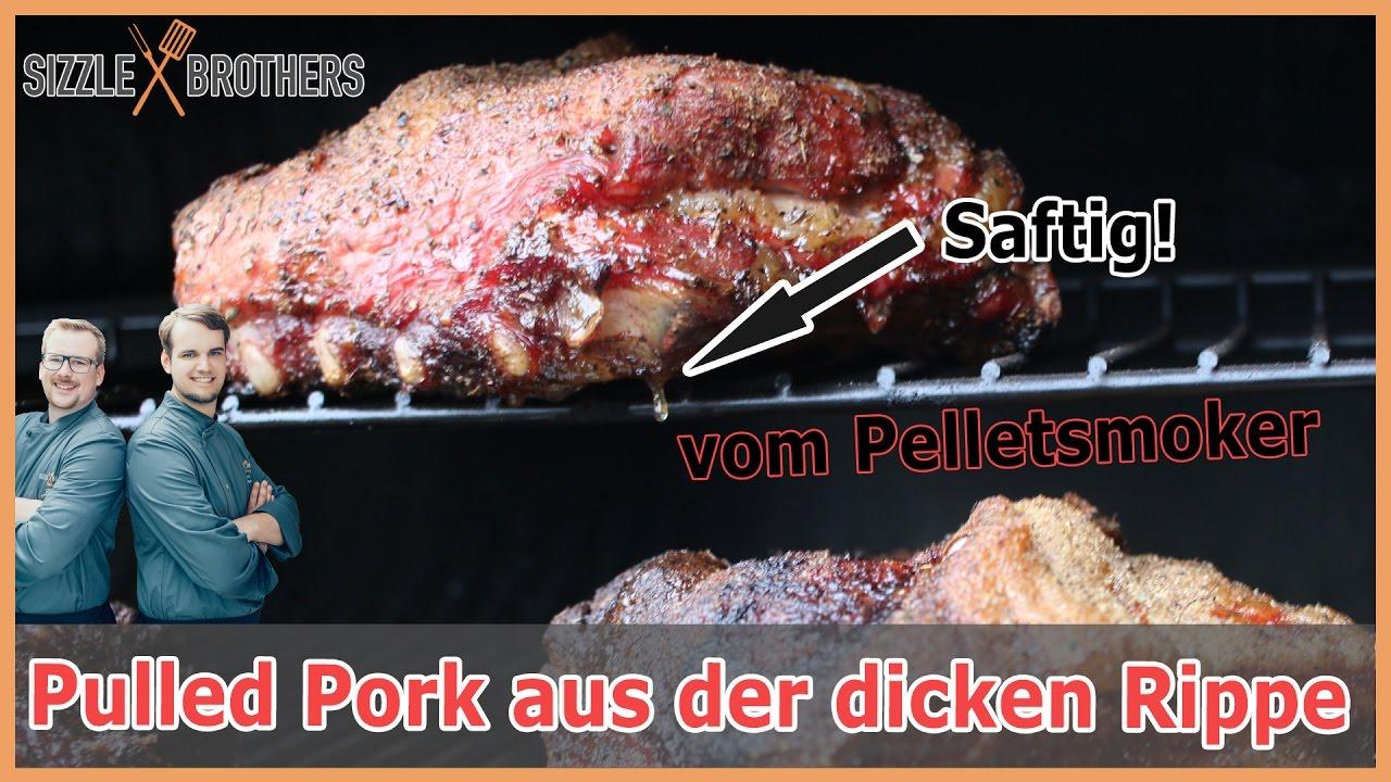 Cobb Gasgrill Pulled Pork : Pulled pork vom pelletsmoker aus der dicken rippe youtube