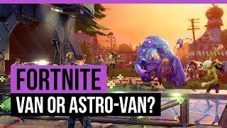 FORTNITE | STONEWOOD - VAN OR ASTRO-VAN? [Quest]