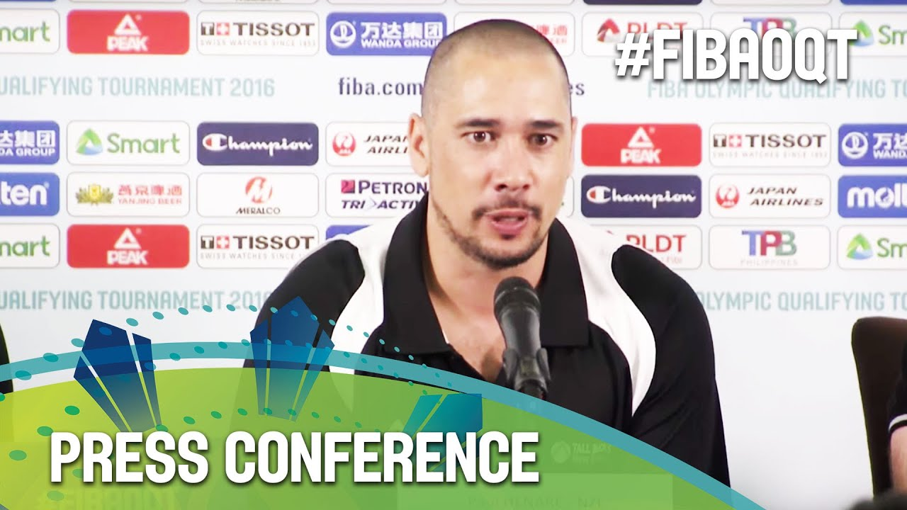 Philippines v New Zealand - Press Conference