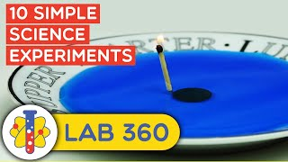 10 Easy Science Experiments You Can Try at Home | Lab 360