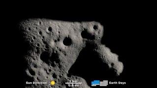 Shadows Near The Moon's South Pole