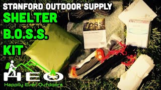 BOSS Shelter Kit by Stanford Outdoor Supply (Review)
