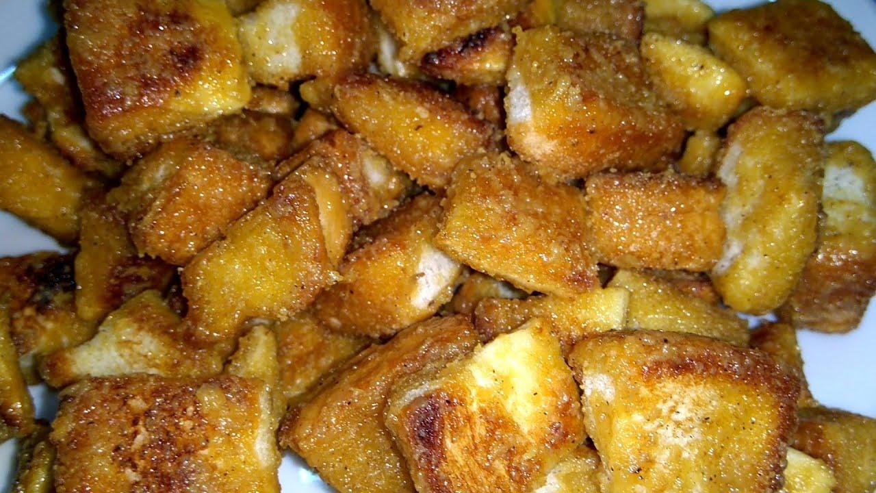 Cara membuat roti tawar karamel - YouTube