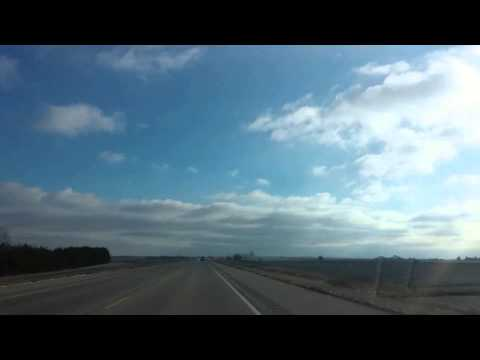 Peoria to Eureka College: Just a short ride (20 minutes reduced to seconds)