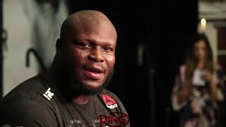 DERRICK LEWIS TALKS BIG COMBACK WIN AND TAKING HIS SHORTS OFF IN THE OCTAGON