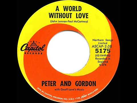 Bildresultat för A World Without Love by Paul McCartney