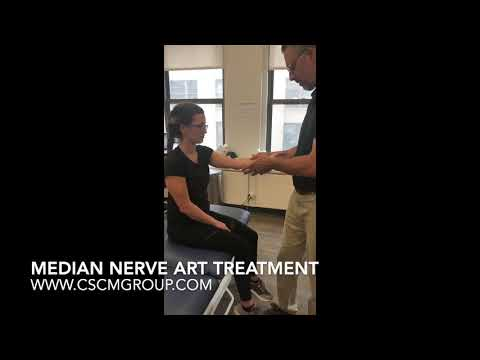 Arm and Wrist Pain Chiropractor in NYC -  Median Nerve ART Treatment