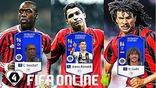 FIFA ONLINE 4: TEST DÀN TEAM FULL TC Vs Ronaldo TC - C. Seedorf TC & R. Gullit TC - ShopTayCam.com